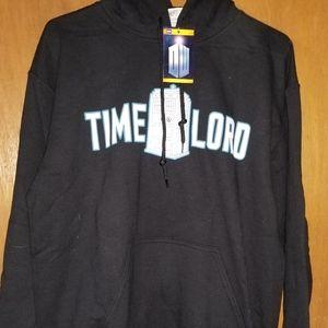 Doctor Who men's hoodie size Medium
